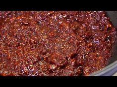 Korean Dishes, Love Food, Chili, Cooking Recipes, Soup, Beef, Homemade, Baking, Foods