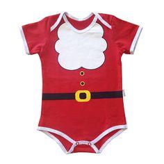 Fantasias de Papai Noel para bebês e Crianças