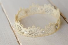 Natural Newborn Crown Photography Prop by FeatherRiverBoutique, $7.00