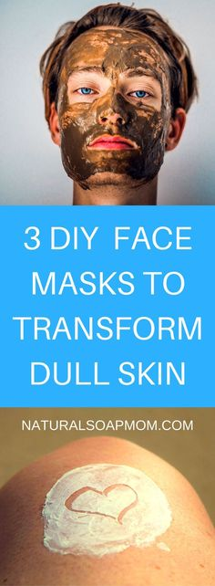DIY Masque : Description Has your skin gone from glowing – to dull and lifeless? The harsh months of winter take a toll on your skin. Bring the glow back to your skin with these 3 DIY Face Masks. They work great and are simple to whip up! Face Scrub Homemade, Homemade Face Masks, Homemade Skin Care, Homemade Moisturizer, Homemade Beauty, Honey Face Mask, Best Face Mask, Diy Face Mask, Makeup Tricks