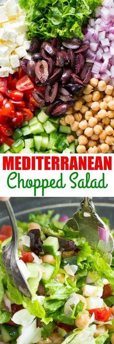 Easy Salads, Healthy Salads, Summer Salads, Healthy Eating, Healthy Food, Vegetarian Recipes, Cooking Recipes, Healthy Recipes, Cooking Tips