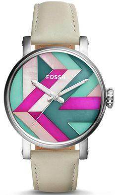 Fossil Original Boyfriend 3-Hand Date Leather Watch ES4200