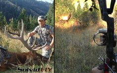 An incredible self filmed archery elk hunt in Idaho. Shawn bow hunts elk, Solvid - Film It Yourself style. This amazing hunt takes place in awesome country that requires determination and hard work to be successful, and that is just the beginning.  WARNING: this video features real life archery bow hunting of wild animals, including KILL SHOT and DEATH! Viewer discretion is advised.  Equipment:  Head Cam: