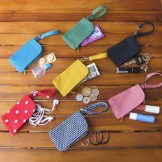 バッグに付けるポーチ【SSサイズ】mimiポーチ リップケース キーケース コインケース イヤホンケース 目薬ケース お薬ケース 印鑑ケース 小物入れ