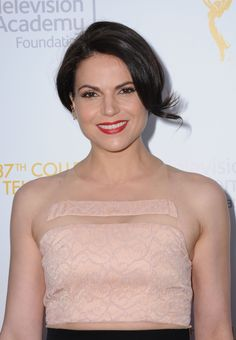 Lana Parrilla attends the College TV Awards in Los Angeles on May 25, 2016.