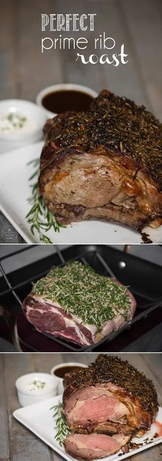 season, serve your friends and family a Perfect Prime Rib Roast for dinner. Its an elegant yet easy to make main dish.holiday season, serve your friends and family a Perfect Prime Rib Roast for dinner. Its an elegant yet easy to make main dish. Roast Recipes, Cooking Recipes, Paleo Recipes, Cooking Tips, Prim Rib Recipes, Cooking Kale, Cooking Artichokes, Cheap Recipes, Cooking Salmon