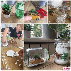 DIY: Kerst in een potje