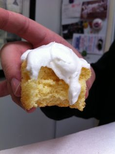 Weight watchers cupcake with cool whip frosting. 2 or 3 points plus each