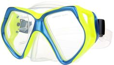 Diving Goggles,LOPOO Adults Scuba Diving Mask with Tempered Glass Lens Silicone PVC Skirt