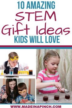 Looking for STEM toy gift ideas for kids? These ten gift ideas are perfect for kids who love science learning toys. Check them out here! Infant Activities, Science Activities, Activities For Kids, Science Fun, Educational Websites, Educational Toys, Learning Through Play, Learning Toys, Toddler Preschool