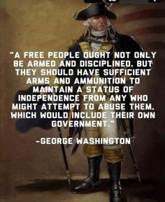 GW - Free press and an armed public.  Notice the word disciplined.  That's what's missing from our indignation around the 2nd amendment.