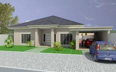 fachadas de casas terreas - Pesquisa Google                                                                                                                                                                                 Más