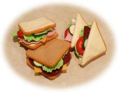 Pretend Play Kitchen  Felt Food Patterns  by FeltCuisine on Etsy, $9.97
