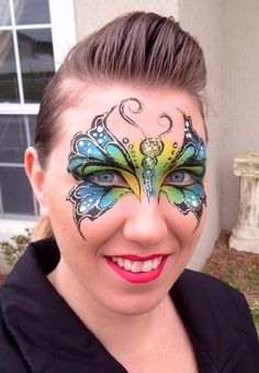 Learn #facepainting from an experienced instructor. Face painting workshops in Australia in 2014 with Whitney Myers and the Face Painting School.