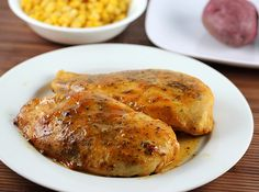 Easy Baked Honey Mustard Chicken