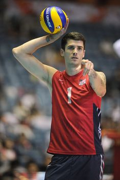 Matthew Anderson Pictures - USA v Argentina - FIVB Men's Volleyball World Cup Japan 2015 - Zimbio