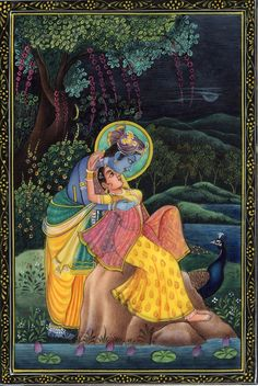 Mughal Paintings, Persian Miniatures, Rajasthani art and other fine Indian paintings for sale at the best value and selection. Rajasthani Painting, Rajasthani Art, Mughal Paintings, Indian Art Paintings, Lord Krishna Images, Radha Krishna Images, Krishna Painting, Madhubani Painting, Indiana
