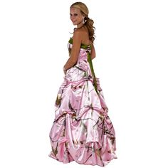 Camo Prom Dress And Wedding Gowns.. VERY CUTE
