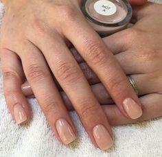 Neutral nail color, dip nail colors, sns nails colors, wedding nails for . Sns Nails Colors, Dip Nail Colors, Neutral Nail Color, Cute Nails, Pretty Nails, Hair And Nails, My Nails, Dipped Nails, Nail Candy