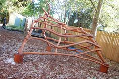 Periwinkle Preschool: Recycled Handmade Wooden Children's Playground! | Parenting Fun Every DayParenting Fun Every Day