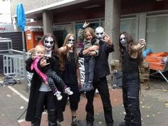 Carach Angren with fans   ! (Mena  =)