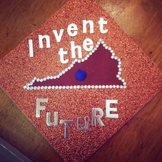 My graduation cap design | I'm off to Virginia Tech in the Fall!!