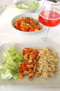 Kotona tehtyjä: Chinese food with quinoa
