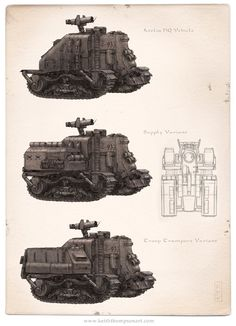 Iron Grip: Atelia HQ Vehicle