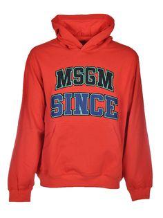 MSGM MSGM LOGO HOODIE. #msgm #cloth #