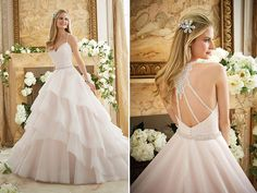 Wedding gown by Mori Lee (Style 2873)