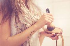 girly and feminine tattoos - birds on arm tattoo