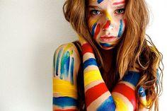 Portrait of a Lady Paint Photography, People Photography, Portrait Photography, Prom Dresses With Sleeves, Foto Art, Foto Instagram, Foto Pose, Favim, Belle Photo