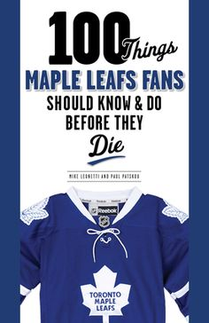 Hockey is back! 35% off 100 Things Maple Leafs Fans Should Know & Do Before They Die in October. Use promo code HOCKTOBER http://www.triumphbooks.com/100-things-maple-leafs-fans-should-know---do-before-they-die-products-9781600789359.php?page_id=21 #Hockey #MapleLeafs #Toronto #NHL #OriginalSix
