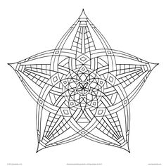 Complicated Coloring Pages For Adults | Download: PDF JPG3600 x 3600 jpeg