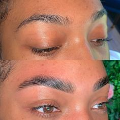 The microblading alternative taking over England fills in gaps in brows and gives them the illusion of fullness and growth in a fast, noninvasive way. Korean Natural Makeup, Natural Brows, Natural Beauty, Instagram Eyebrows, Straight Brows, Feather Brows, Henna Brows, Brow Tutorial, Full Brows