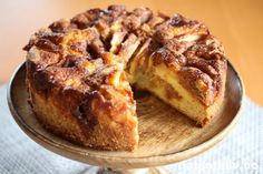 Sweets Cake, Apple Cake, Banana Bread, Nom Nom, Cake Recipes, French Toast, Pork, Food And Drink, Cookies