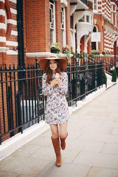 Zara Paisley Dress Seventies Style What Olivia Did