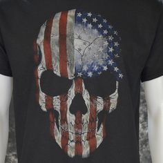 Love it or leave it! These patriotic t-shirts show off a certain brand of frontier justice, in-your-face Merica, or just good ol' fashion bad-ass pride. High q