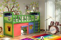 Vyvýšená dětská postel z MASIVU s obrázkem - ZP005 Bunk Beds, Toddler Bed, Loft, Furniture, Home Decor, Homemade Home Decor, Loft Beds, Trundle Bunk Beds, Lofts
