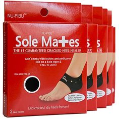 SoleMates Cracked Heel Healers The quickest easiest way to cure scratchy dry heels for your honeymoon