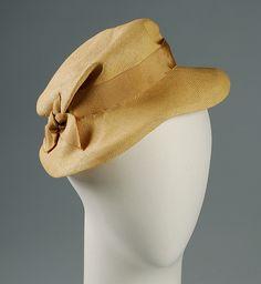 0d847e5f67e Hat Designer  Rose Valois Date  ca. 1932 Culture  French Medium  Straw