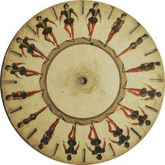 Phenakistoscope, Great Britain, 1833	Courtesy of the Richard Balzer Collection