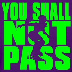 you shall not pass blocker tee (other colors available)