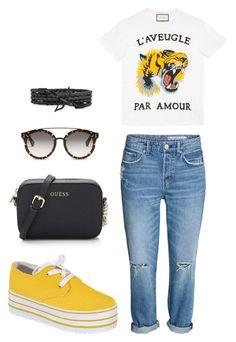 7945ae64f05 Street style by dalma-m on Polyvore featuring polyvore fashion style Gucci  Rasolli STELLA McCARTNEY