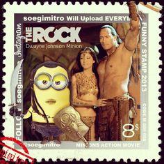 Scorpion Minion King - The Rock