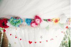 more flower decoration/installation images