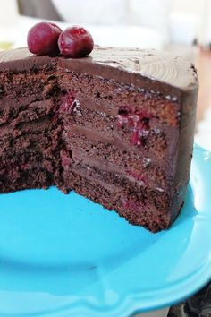 New Photos fancy Cake recipe Concepts - yummy cake recipes Delicious Cake Recipes, Yummy Cakes, Dessert Recipes, Chocolate Cherry Cake, Chocolate Desserts, Oreo, Pastry Cake, Fancy Cakes, Cheesecake
