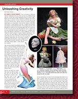 Adele produces a quarterly magazine on Costuming and OOK art dolls, well worth reading