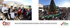 MILES DE GOMEZPALATINOS ACUDEN A PARTIR LA ROSCA DE REYES