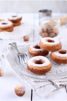 Cronuts (Recipe in French)
